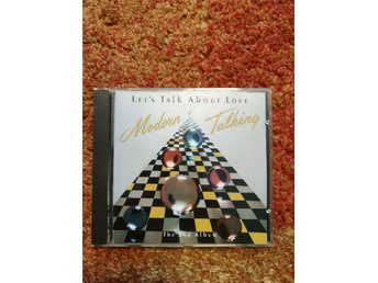 Modern Talking - Let's Talk About Love (The 2nd Album) CD Hansa 1988 Euro Disco