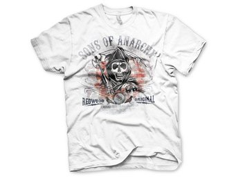 SONS OF ANARCHY DISTRESSED FLAG T-SHIRT S