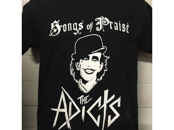 ADICTS - (XL) T-Shirt (Clockwork, Skinhead, Oi! Punk, UK 82, Songs Of Praise