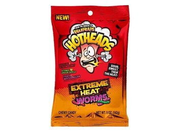 Warheads Hotheads Extreme Heat Bag 142g