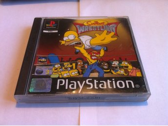 PS1/PSone: The Simpsons Wrestling
