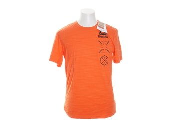 Reebok, T-shirt, Strl: M, Activechill, Orange/Svart