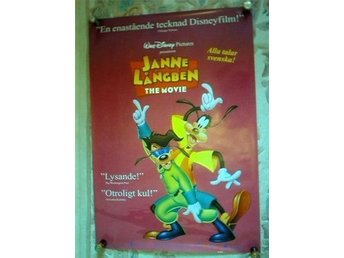JANNE LÅNGBEN THE MOVIE Disney ÅR 1994  70X100CM