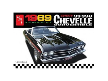 AMT 1/25 1969 Chevy SS 396 Chevelle Convertible