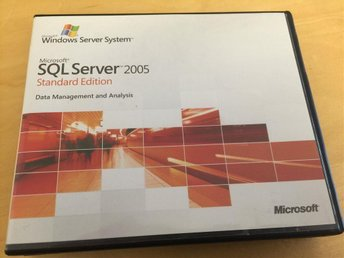 SQL Server 2005 STD Version