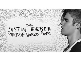 2 (TVÅ) biljetter Golden Circle Justin Bieber 30/9 Purpose World Tour 2016