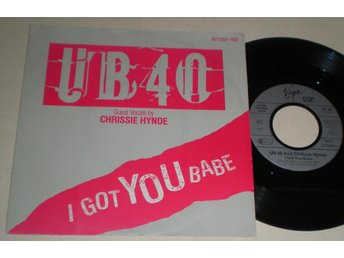 UB 40 45/PS I got you babe 1985 M-