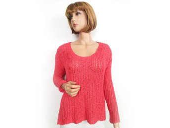BIK BOK S Cotton Sweater Coral SAMFRAKT