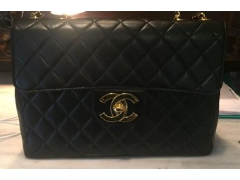 Äkta Chanel jumbo flap bag