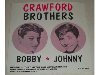 Crawford Brothers OMSLAG EP Cindy´s gonna cry 1963