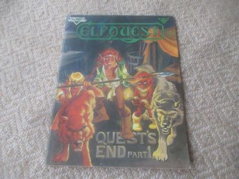 "Elfquest #19, ""Original Quest"", WaRP Graphics, 1984"