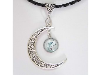 Frost Måne Halsband / Frozen Moon Necklace