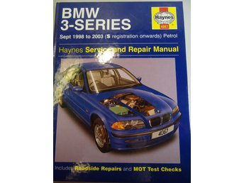 BMW 3-Series sept 1998 to 2003: bilreparation