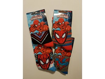 3-pack Strumpor Spindelmannen / Spiderman 23-26