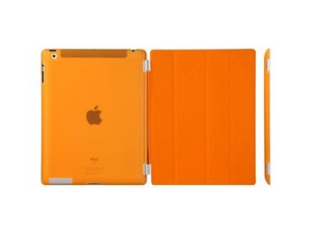 Fodral/Cover iPad (2017) / iPad Air + Skal hårdplast Orange