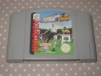 International Superstar Soccer 64 till Nintendo 64 N64