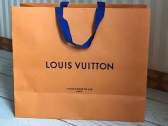 Louis Vuitton shoppingpåse 34x40x16 cm
