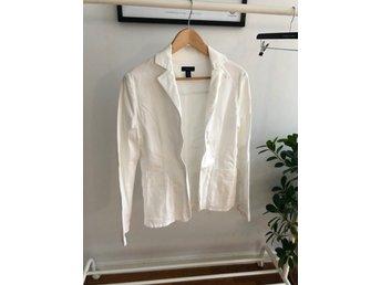 Gant kavajjacka 38, vit (417014234) ᐈ Köp på Tradera