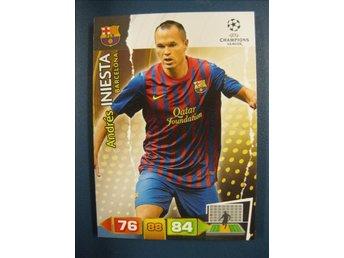 5f4ae3411d8136 ANDRES INIESTA - FC BARCELONA - UEFA CHAMPIONS LEAGUE 2011-2012