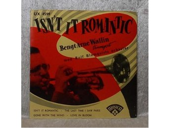 BENGT-ARNE WALLIN - Isn' it romantic