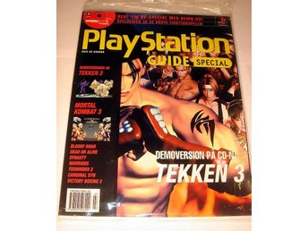 PLAYSTATION GUIDE SPECIAL   NY CD   TEKKEN  I ORIGINALPLAST