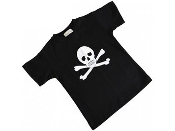 T-Shirt Pirat Jolly Roger M 140cl