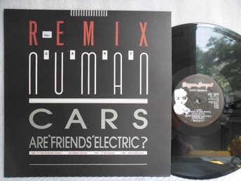 GARY NUMAN - CARS / ARE FRIENDS ELECTRIC - BEG 199TR