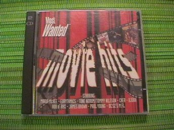 MOST WANTED MOVIE HITS    2 CD     TONE NORUM  CHER  BJÖRK   MFL