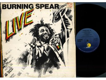 BURNING SPEAR - LIVE - ISLAND ILPS 9513