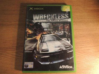 Wreckless - The Yakuza Missions - [XBOX / First Gen / Första]