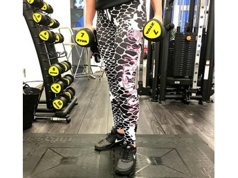 Fitness/Yoga-tights från StylebyJNY tights träning byxor ormmönster Storlek M - Hultsfred - Fitness/Yoga-tights från StylebyJNY tights träning byxor ormmönster Storlek M - Hultsfred