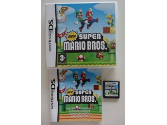 NINTENDO DS--NEW SUPER MARIO BROS