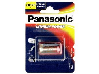 1 Panasonic Photo CR 123 A Lithium - Höganäs - 1 Panasonic Photo CR 123 A Lithium - Höganäs