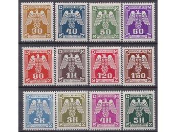 Tredje Riket NSDAP postfrisk serie tjänstemärken - Södertälje - Tredje Riket NSDAP postfrisk serie tjänstemärken - Södertälje
