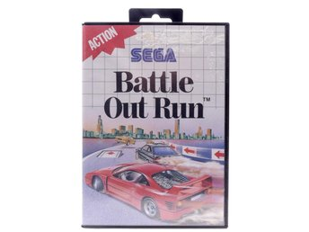 Battle Out Run - Sega Master System - PAL (EU)