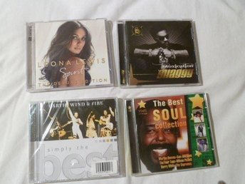 4 st CD - LEONA LEWIS - SHAGGY - EARTH WIND & FIRE - SOUL COLLECTION !