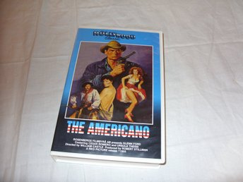 The Americano VHS PAL Svensk text western film 1955 Glenn Ford