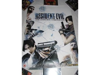 Resident Evil The Darkside Chronicles poster/affisch
