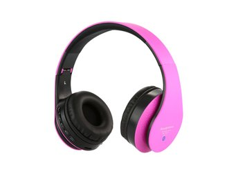 Hörlurar Headset Bluetooth - Rosa