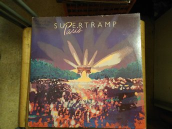 Supertramp - Paris, 2 x, LP