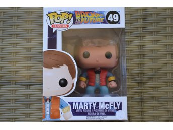 Marty McFly Back to the Future Nr 61 Vinyl Funko (Pop! Figur
