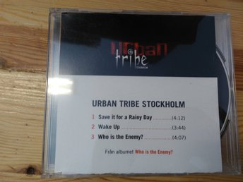Urban Tribe Stockholm - Who is the enemy, CDs