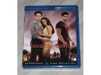 The Twilight Saga - Breaking Dawn Part 1 - Svensk Text (Blu Ray) Bluray -