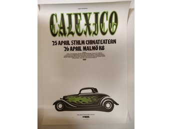 Poster Calexico Chinateatern