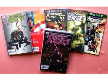 The New Avengers #1-50 + Specials by Brian Michael Bendis/David Finch (Floppies)
