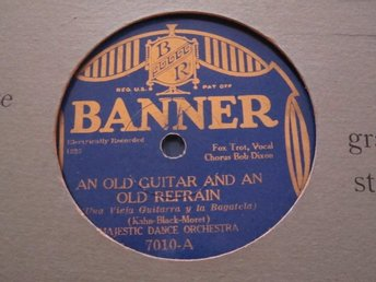 Banner 7010 Majestic Dance / Hollywood Dance Orchestra