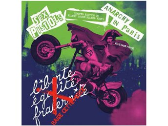 Sex Pistols: Anarchy in Paris (Silver) (Vinyl LP)