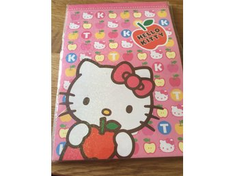 Hello Kitty Brevpapper 48 ark **Nytt**