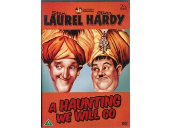 A-Haunting We Will Go 1942 DVD Stan Laurel, Oliver Hardy