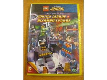 LEGO DC - JUSTICE LEAGUE VS BIZARRO LEAGUE - NY, INPLASTAD DVD - Hörby - LEGO DC - JUSTICE LEAGUE VS BIZARRO LEAGUE - NY, INPLASTAD DVD - Hörby